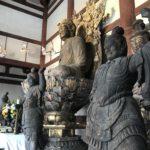 四天王像特別公開(喜光寺)