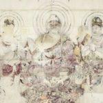 法隆寺金堂壁画模写などー大英博物館仏像展ー