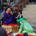 蓮華会・蛙飛び行事(金峯山寺)
