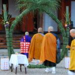 蓮華会式・茅の輪くぐり