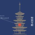 国宝 東塔大修理特別写経(薬師寺)