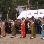 御弓始祭(大和神社)