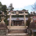於美阿志神社(檜隈寺跡)